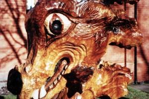 Amber the Dragon, Bilston Craft Gallerey,  Nr. Wolverhampton