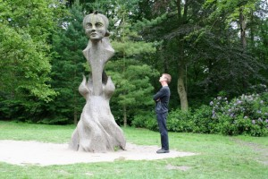 Lickey Hills Sculpture from a huge Sweet Chestnut Tree