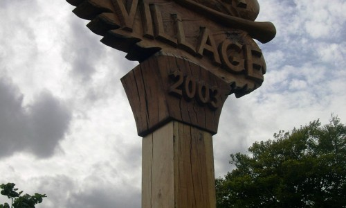 Linton Village sign